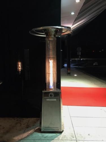 Plynový zářič HEKLA