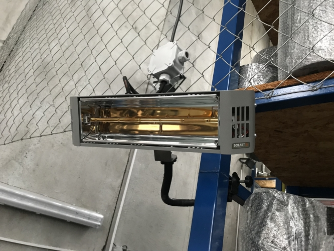 Infrazářič Solart M mobil